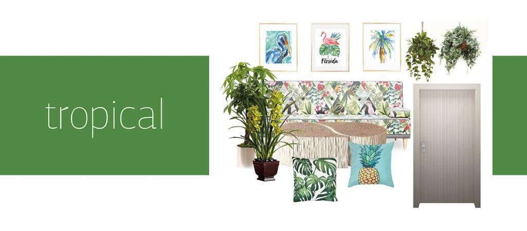 Στυλ Διακόσμησης – Tropical