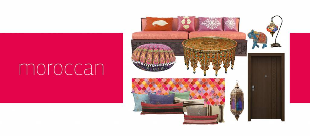 Στυλ Διακόσμησης – Moroccan